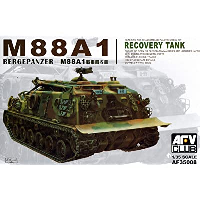 M-88A1 Bergepanzer Recovery Tank 1-35 AFV Club: Toys & Games