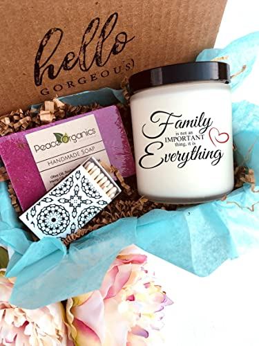 Image Unavailable & Amazon.com: Family is Everything Candle Gift Set - Family Reunion ...