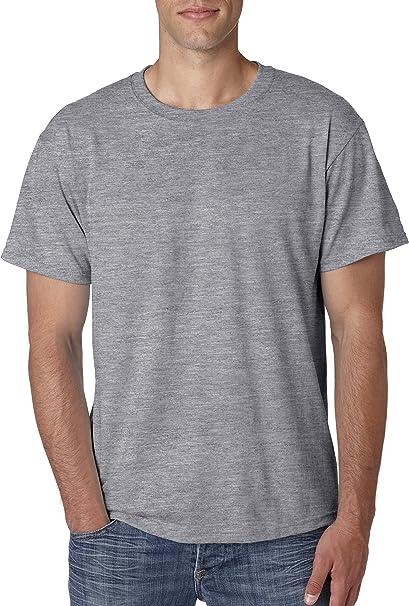 ad1114dc Jerzees Men's Tall Preshrunk Heavyweight Crewneck T-Shirt, OXFORD, X-Large  Tall