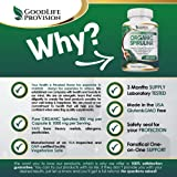 Organic Spirulina - 100% Pure 1000mg Serving (500mg Veggie Capsules) Powder Supplement, Supports Natural Detoxification, Benefits Health on a Cellular Level, Best with Chlorella, 3 Month Supply