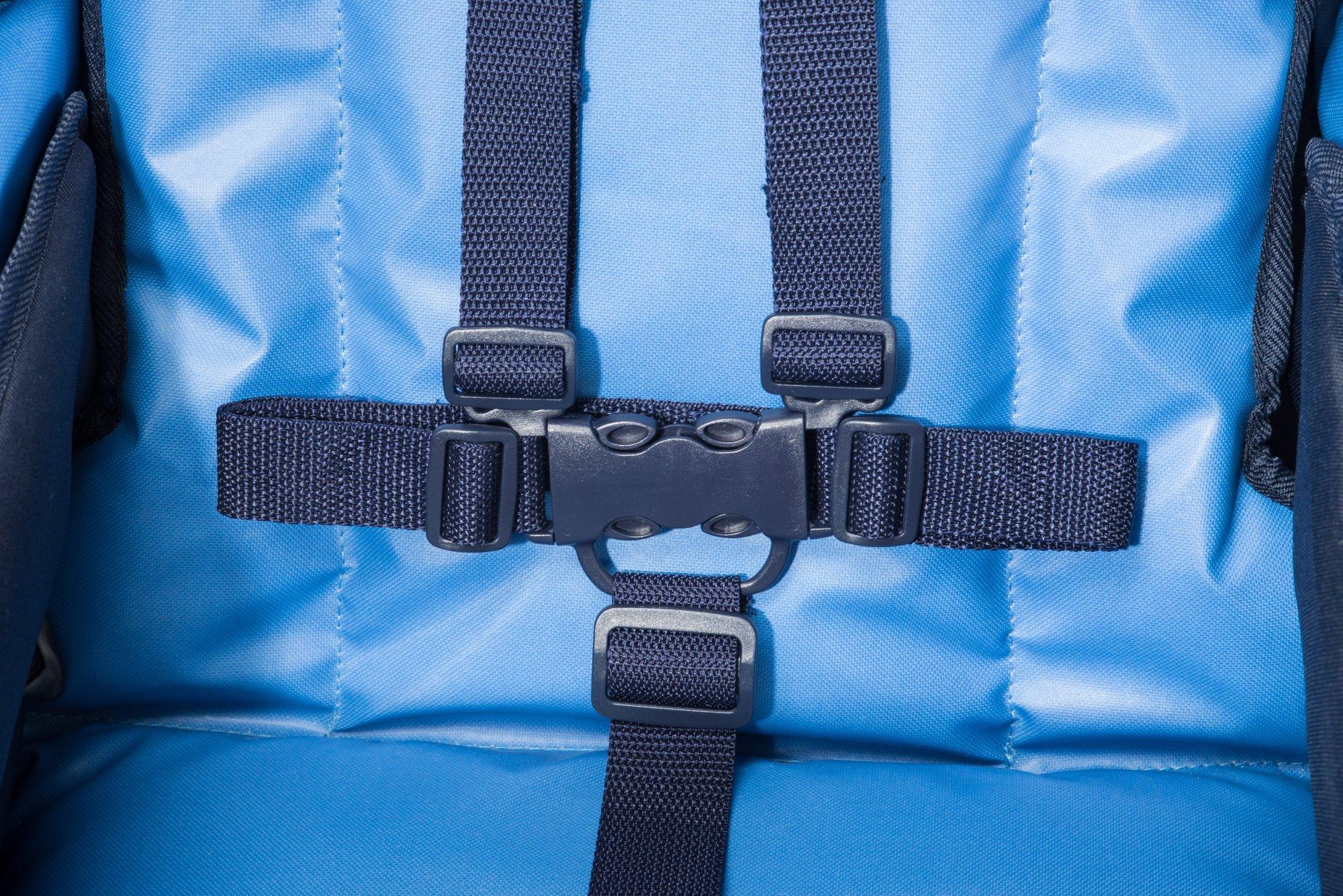 Child Craft Sport Multi-Child Quad Stroller, Regatta Blue by Child Craft (Image #5)