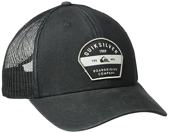 save off 2e0e5 1c76b Quiksilver Men s Silver Lining Hat, Black, One Size