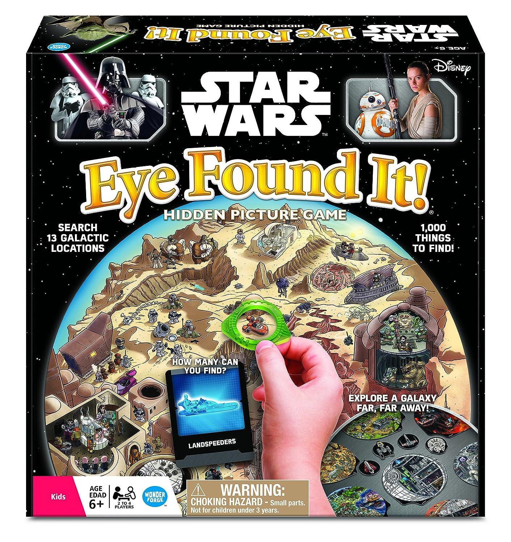 amazon com star wars eye found it board game toys games