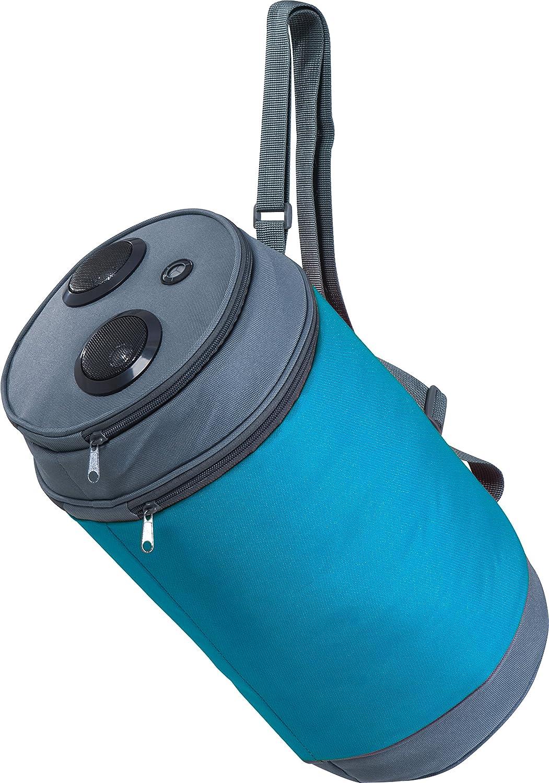 Kühltasche in Form einer Dose mit Lautsprecher