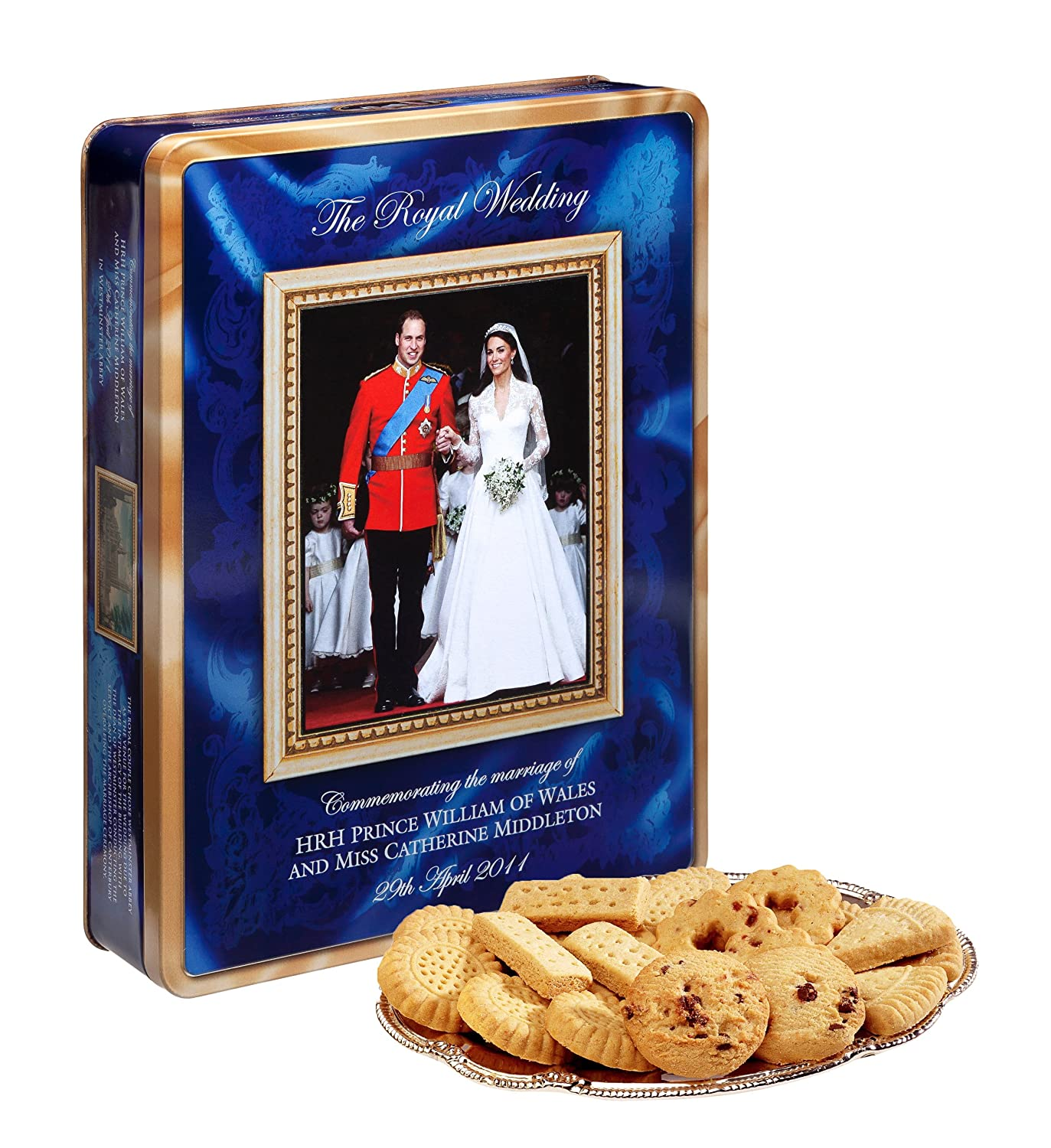 amazon com walkers royal wedding commemorative tin butter