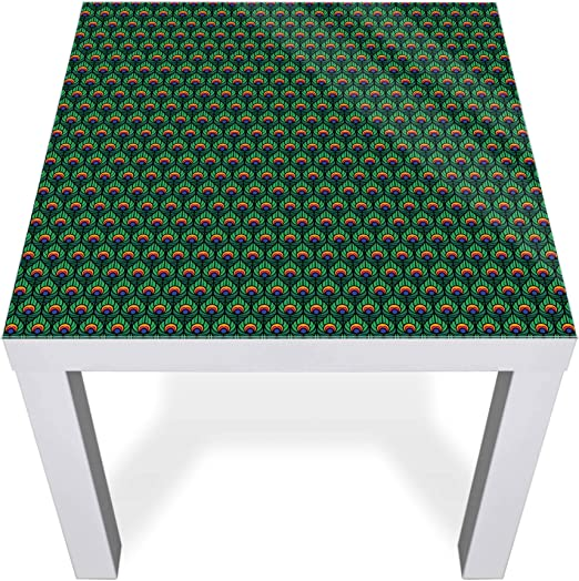 banjado Glasplatte für IKEA Lack Tisch 55x55cm