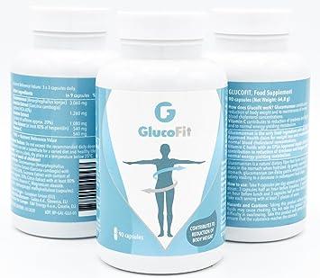 GLUCOFIT- Pastillas para Adelgazar | Suplemento para Pérdida de Peso 100 % Natural | No