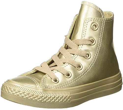 Femme Baskets et Sneakers CONVERSE CTAS METALLIC Kaki