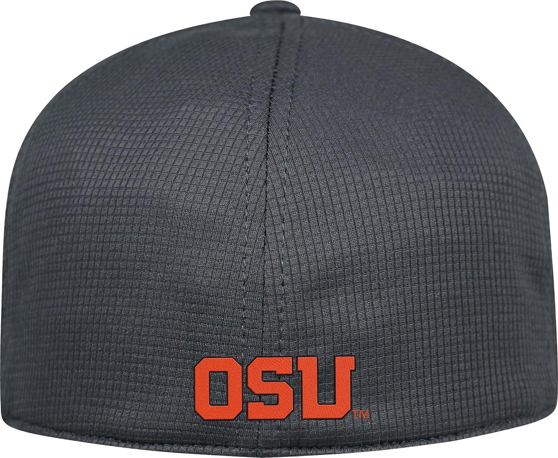 sale retailer 258b1 4d3df Amazon.com  Top of the World Men s Oregon State Beavers Charcoal Booster  Plus 1Fit Flex Hat  Sports   Outdoors