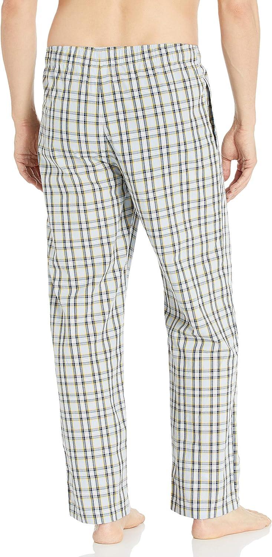 Tommy Hilfiger Mens Poplin Woven Drawstring Pajama Pant Pajama Bottom