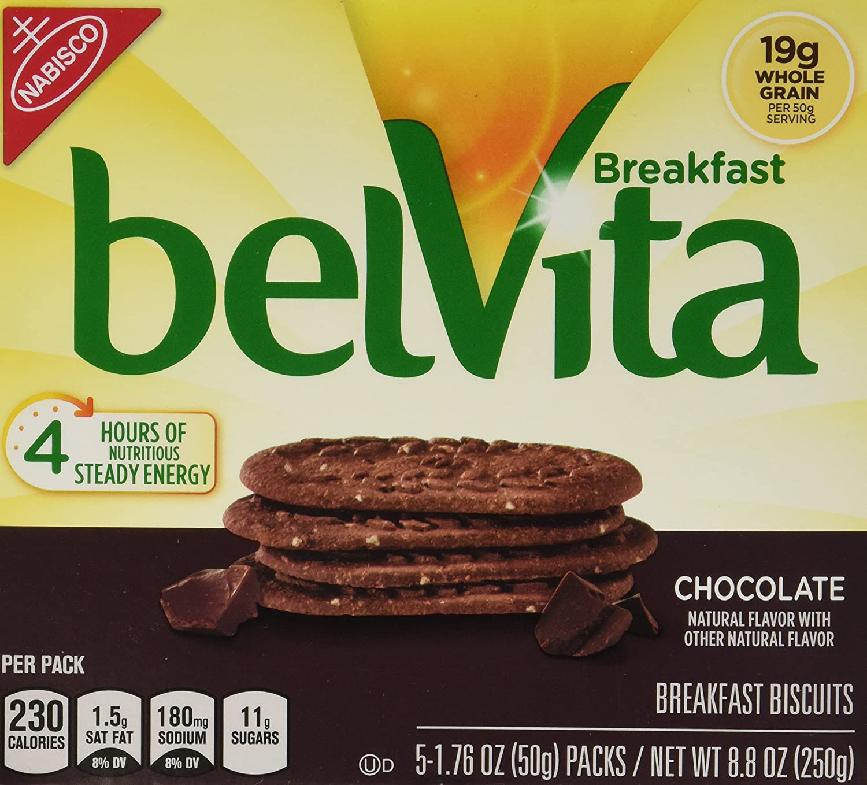 Amazon.com: Belvita Whole Grain Chocolate Breakfast Biscuits (2 ...