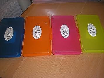 Caja para toallitas húmedas de bebé 4 Stück Set (Einfärbig) Talla:Nicht verfügbar: Amazon.es: Bebé