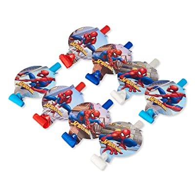 Spider-Man 8-Count Party Blowers: Toys & Games
