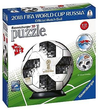 Ravensburger Puzzle 3d Adidas Weltmeisterschaft Fussball 2018 72 Teilig 11751