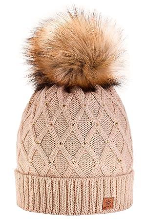 2c629f8cb0447 Morefaz - Gorro de invierno para mujer