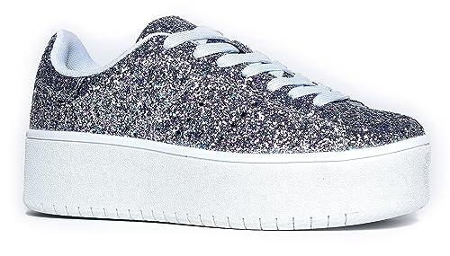 509bc76f6 J. Adams Platform Lace up Sneaker - Casual Chunky Walking Shoe ...