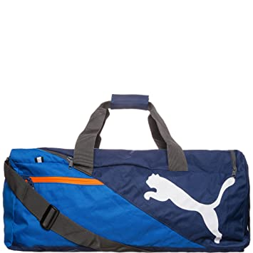 33558f093b Puma Unisex's Fundamentals Sports Bag Large, Lapis Blue, One Size ...