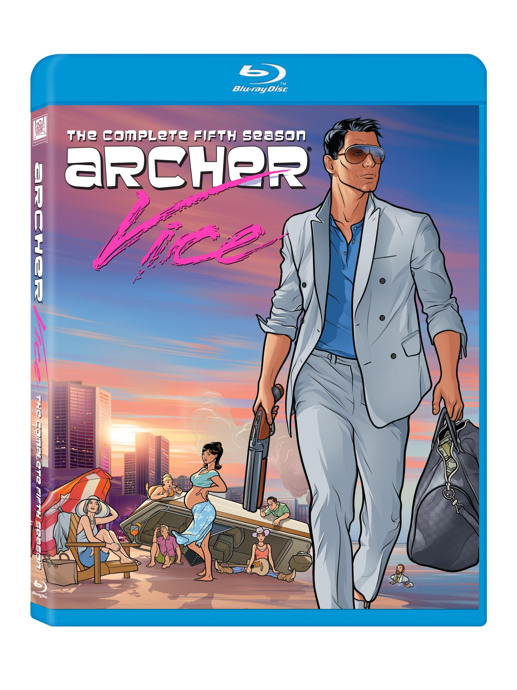 Archer: The Complete Season Five (Widescreen, Digital Theater System, Digitally Mastered in HD, Subtitled, 2PC)