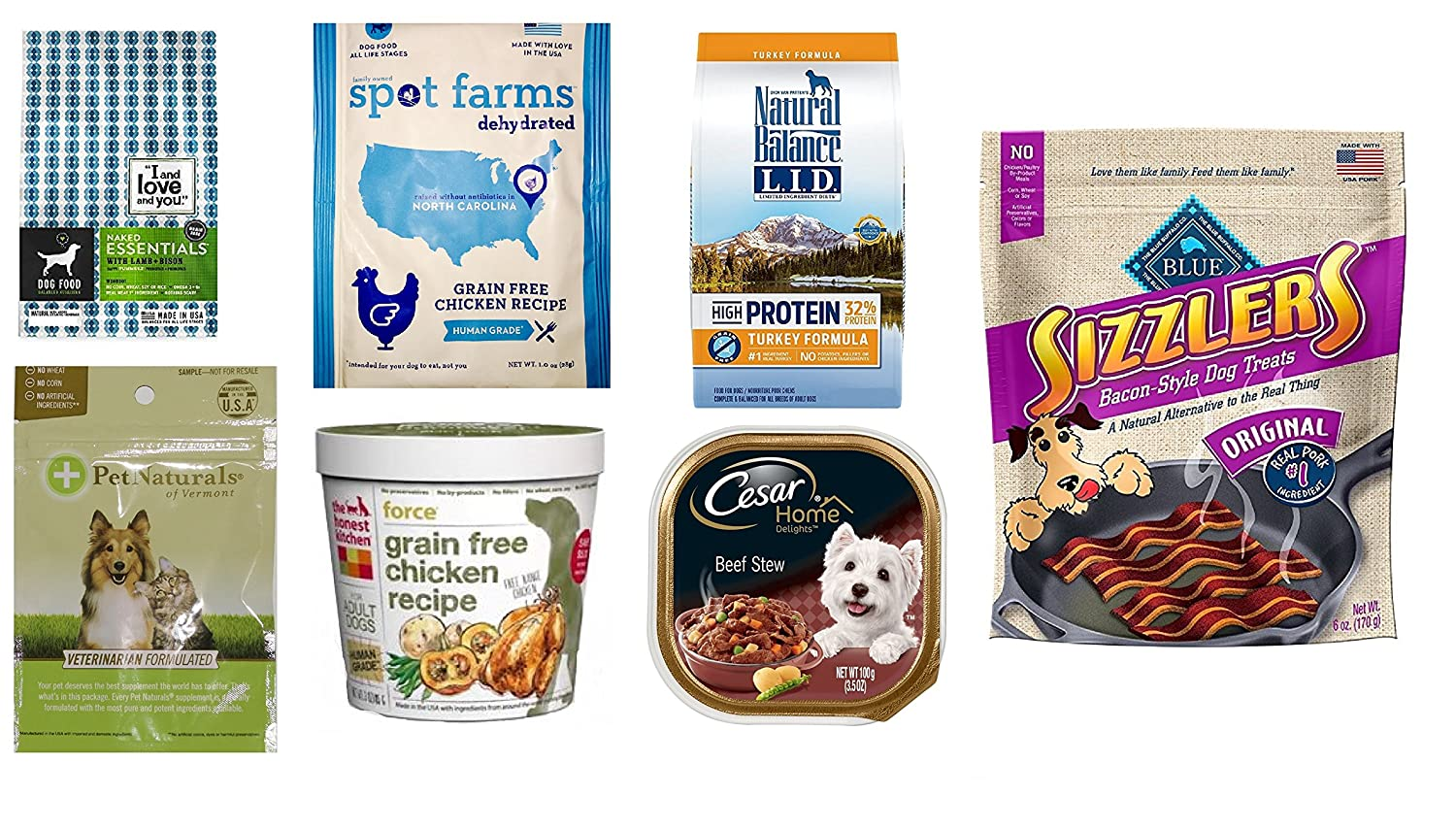 FREE Dog Food and Treats Sampl...