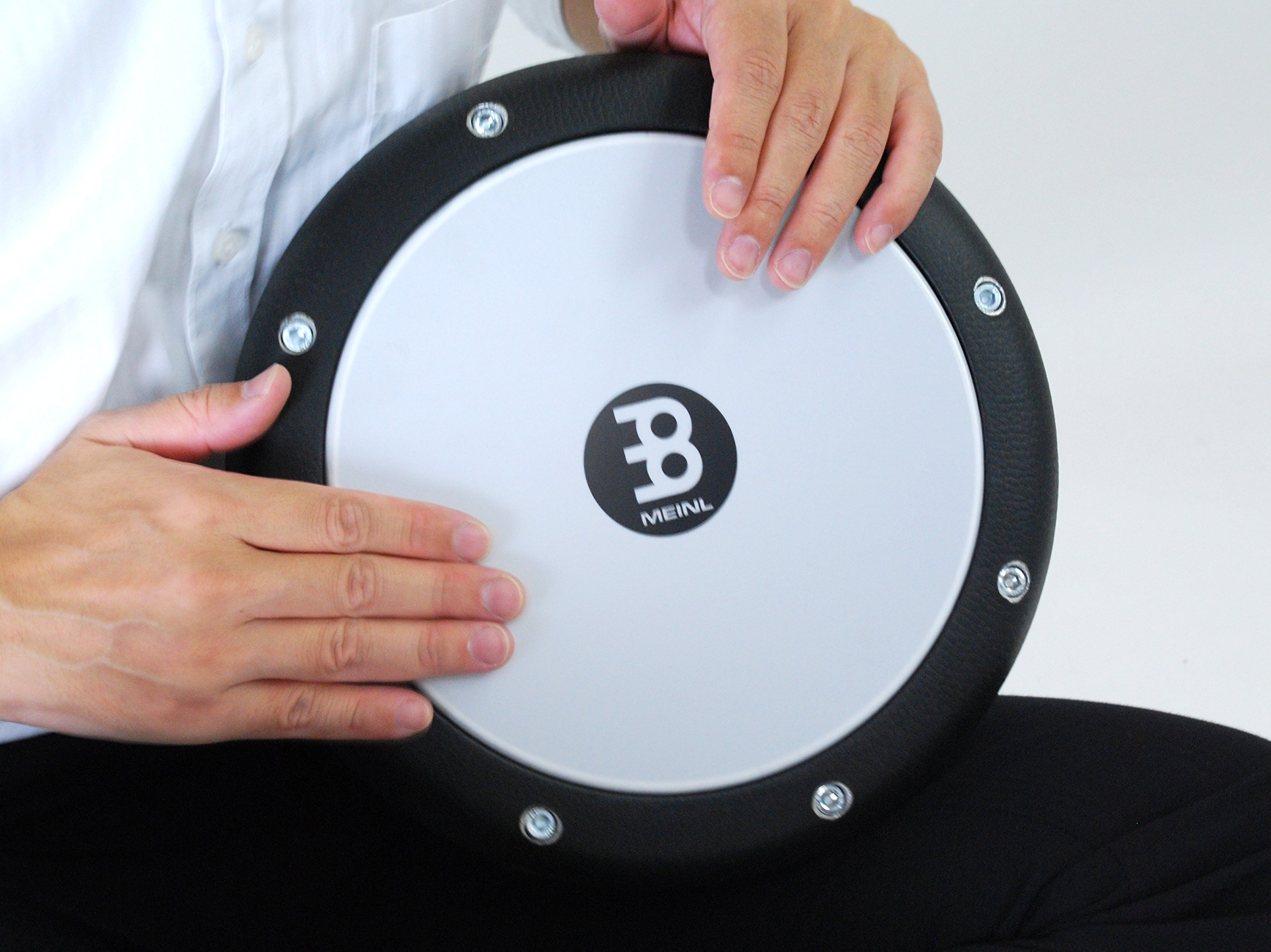 Meinl Percussion Doumbek in Leatherette Finish with Aluminum Shell - MADE IN TURKEY - 8.5'' Tunable Synthetic Head, 2-YEAR WARRANTY (HE-3000) by Meinl Percussion (Image #4)
