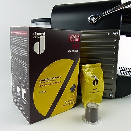 Danesi Gold para máquinas Nespresso Espresso Cápsulas de ...