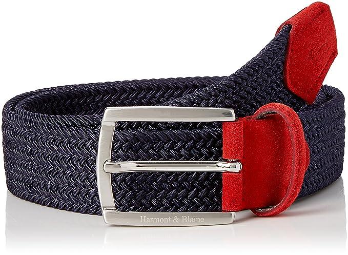 andare online posto migliore vari design Harmont & Blaine M0039208041 Cintura, Rosso (Tomato), 90 (Taglia ...
