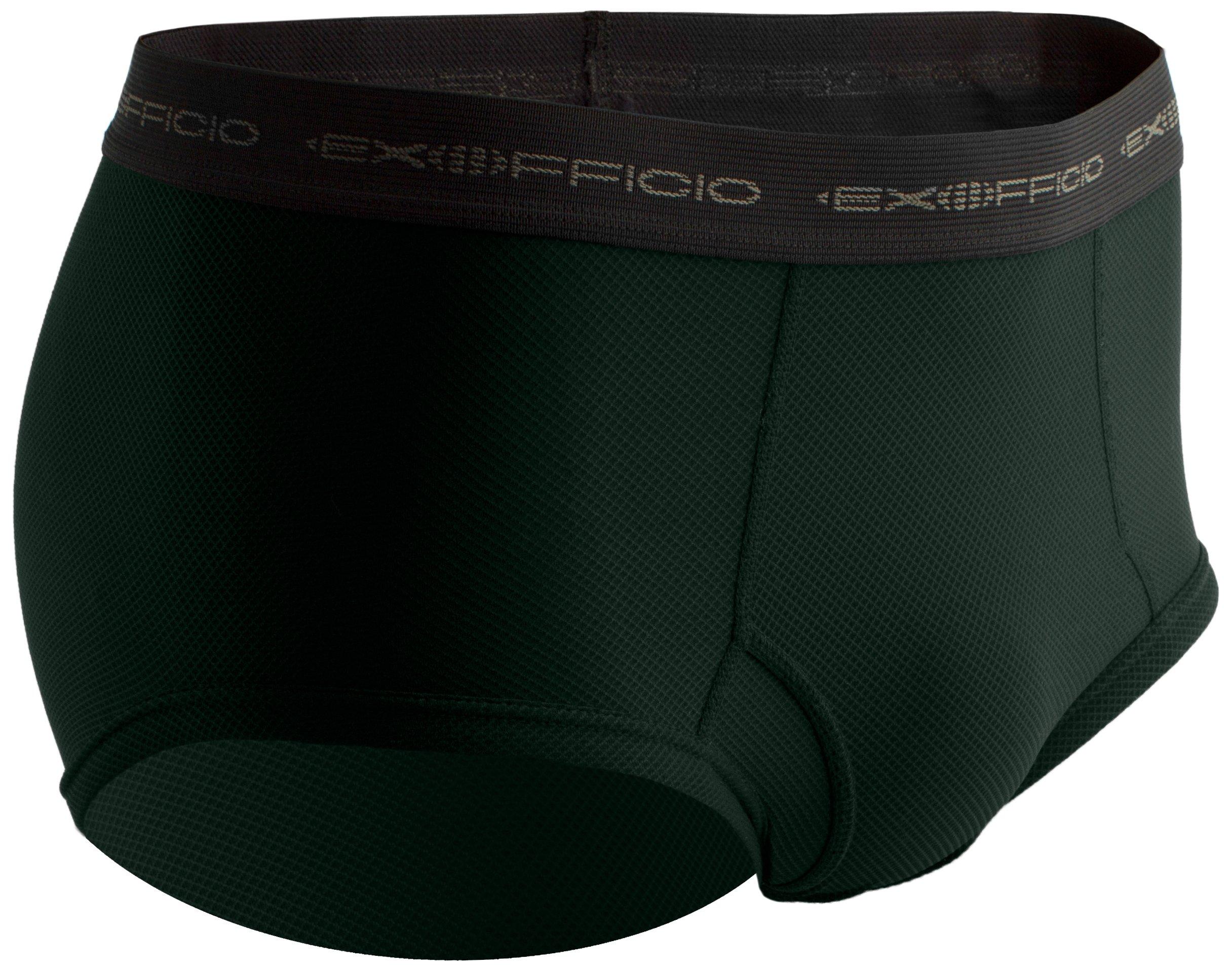ExOfficio Men's Give-N-Go Brief Travel Underwear,Ponderosa,X-Large