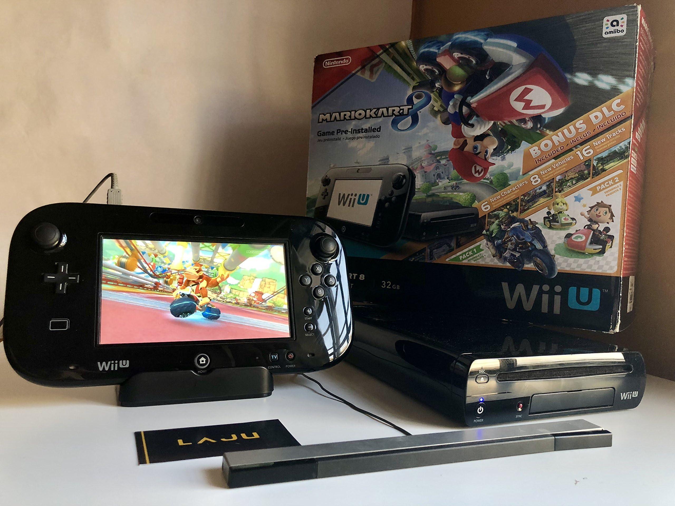 Amazon Com Nintendo Mario Kart 8 Deluxe Set With Dlc Wii U