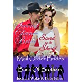 Mail Order Bride: Second Chance Bride Saved by the Sheriff: Clean Western Historical Romance (Band of Brothers for the Mail O
