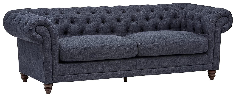 Stone & Beam Bradbury Chesterfield Tufted Sofa Couch, 92.9\