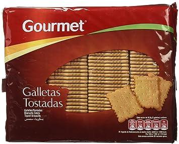 Gourmet Galletas Tostadas - Pack de 4 x 200 g - Total: 800 g: Amazon.es: Amazon Pantry