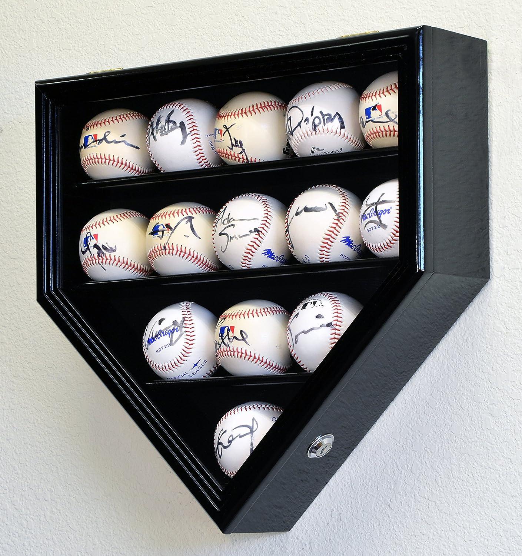 Baseball Schläger Schlaeger Halter Halterung Holder Rack Tisch Display Schwarz