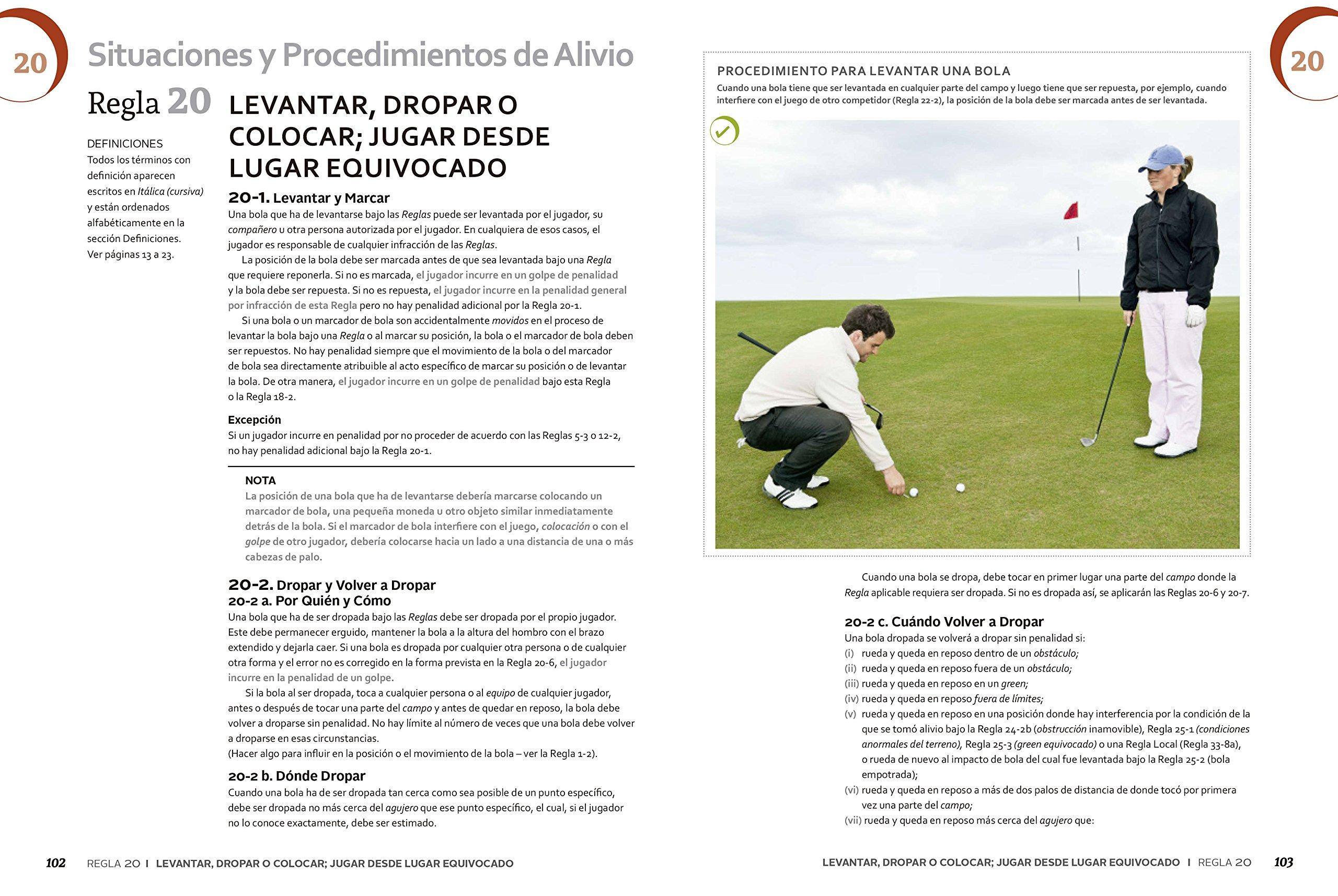 Reglas De Golf Ilustradas: VARIOS: 9788416676002: Amazon.com ...