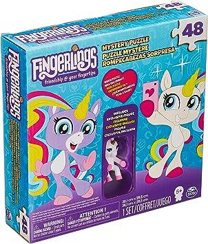 Spin Master Fingerlings Unicorn Bling Puzzle 48 pcs Puzzle Rompecabezas (Puzzle Rompecabezas, Animales, Niños, Unicornio, Chica, 6 año(s))