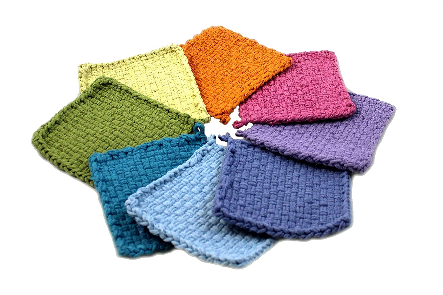 Carnation Makes 2 Potholders Harrisville Designs Toys F551C Harrisville Designs Traditional 7 Cotton Loops