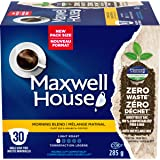 Maxwell House Morning Blend Coffee 100% Compostable Pods, 30 Pods