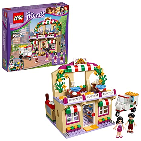 Amazoncom Lego Friends Heartlake Pizzeria 41311 Toy For 6 12 Year