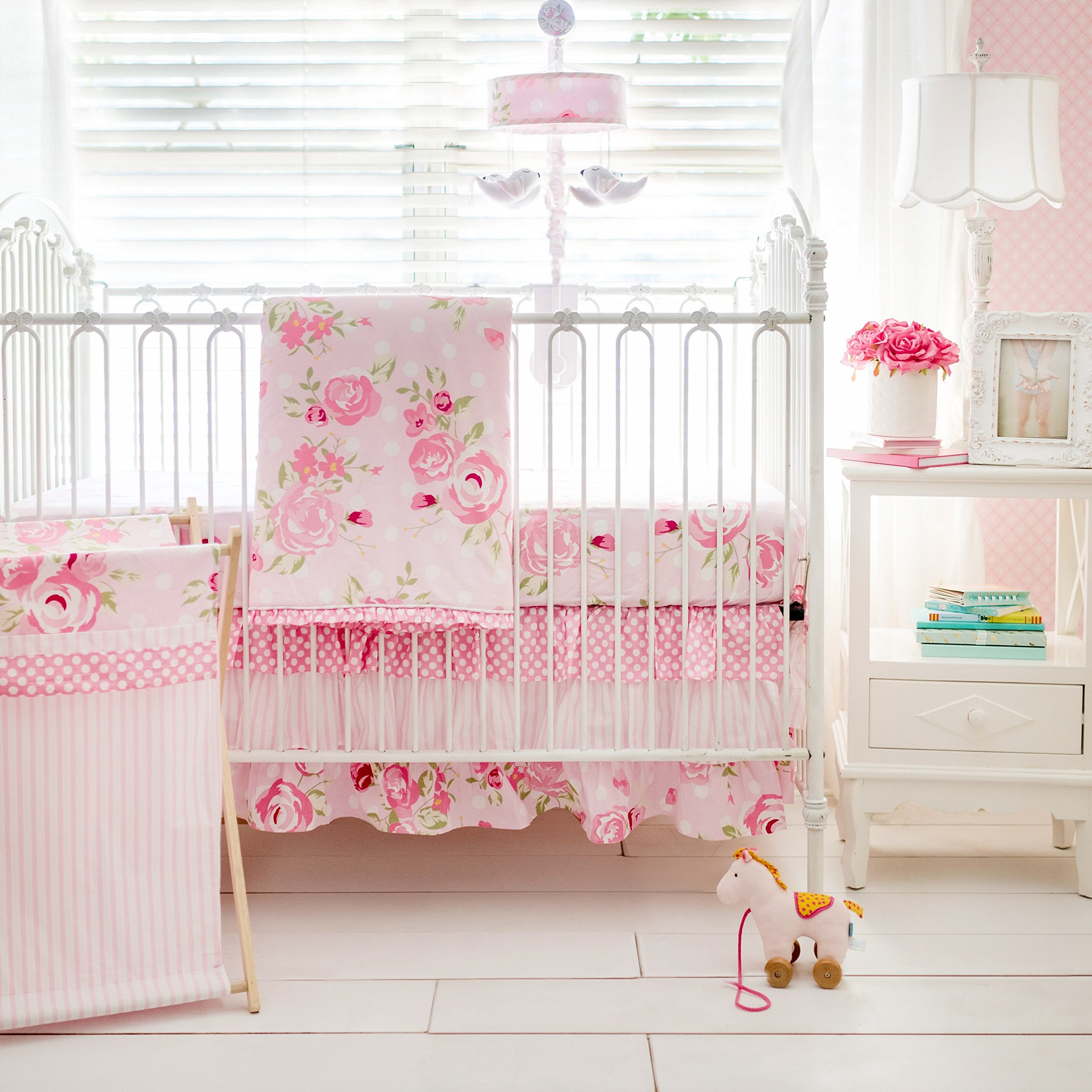 My Baby Sam Rosebud Lane 3 Piece Crib Bedding Set by My Baby Sam
