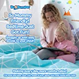 (1-Pack) Extra Long Bed Rail for Toddler | Soft