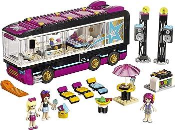 LEGO Friends Pop Star Tour Bus Building Kit
