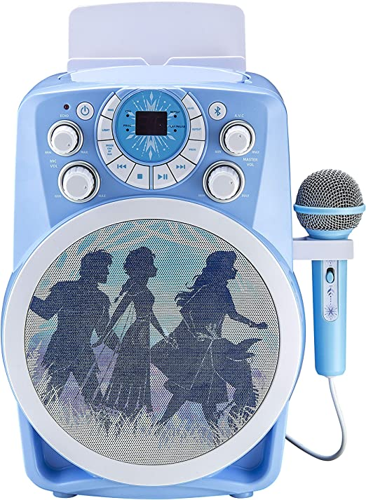 Frozen 2 Bluetooth CDG Karaoke Machine