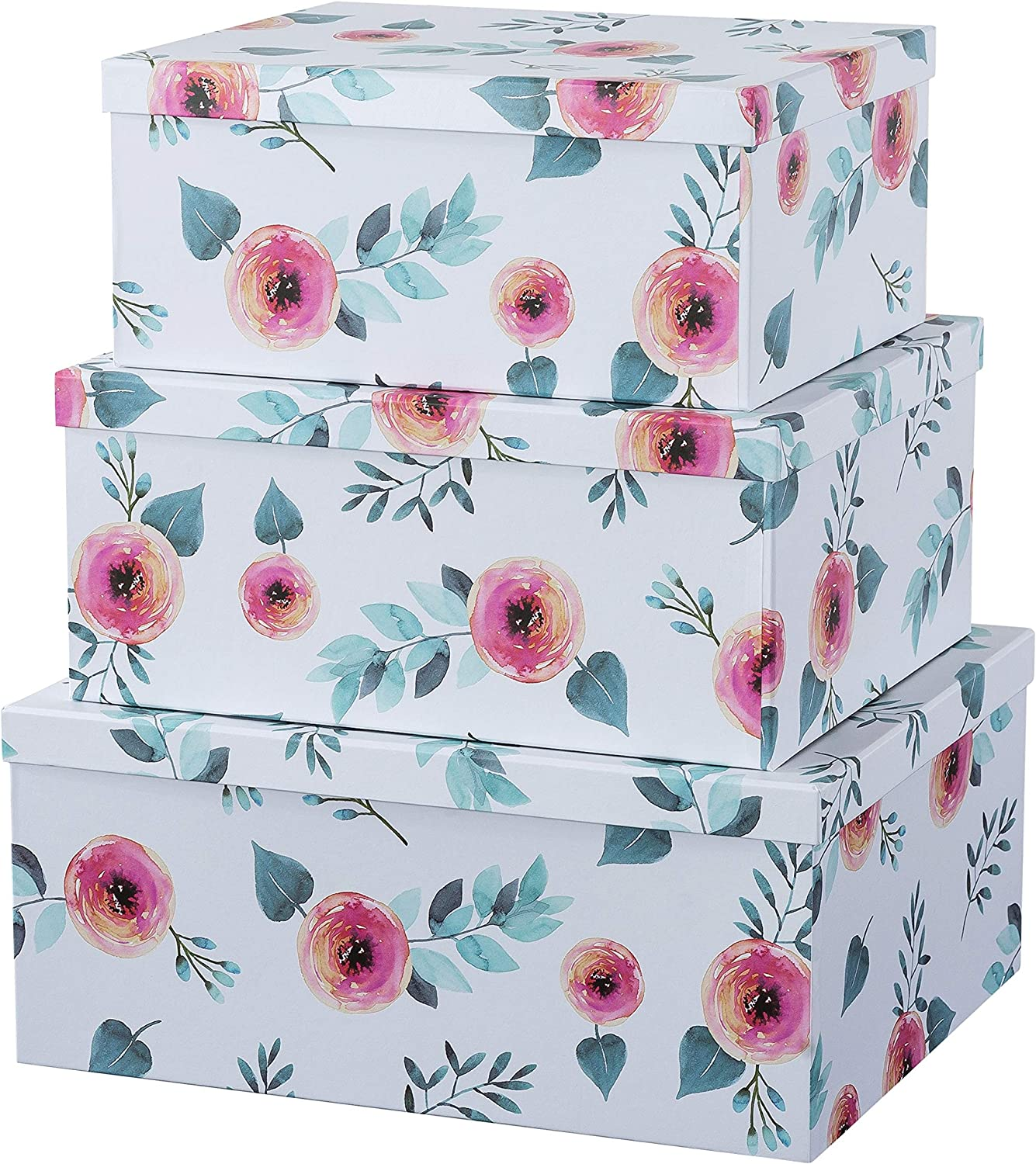 Soul Lane Lowest price challenge Decorative Storage Cardboard with Float Boxes Outstanding Lids
