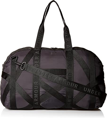 Under Armour This Is It Women's Sports Bag, womens, 1306410, Black (001) /  Metallic Faded Gold, standard size: Amazon.co.uk: Shoes & Bags