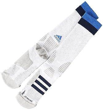 Adidas S99030 Calcetines, Hombre, Blanco (Blanco/Maruni / Azul), 49