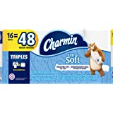 Charmin Ultra Soft Toilet Paper, 16 Triple Rolls Equal To 48 Regular Rolls, 16 Count