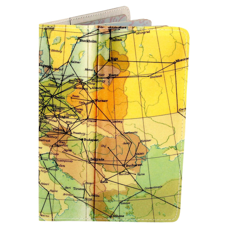 Airways Cahier mapa Journal (diario, portátil) W/Moleskine Cahier Airways bolsillo Funda 024872