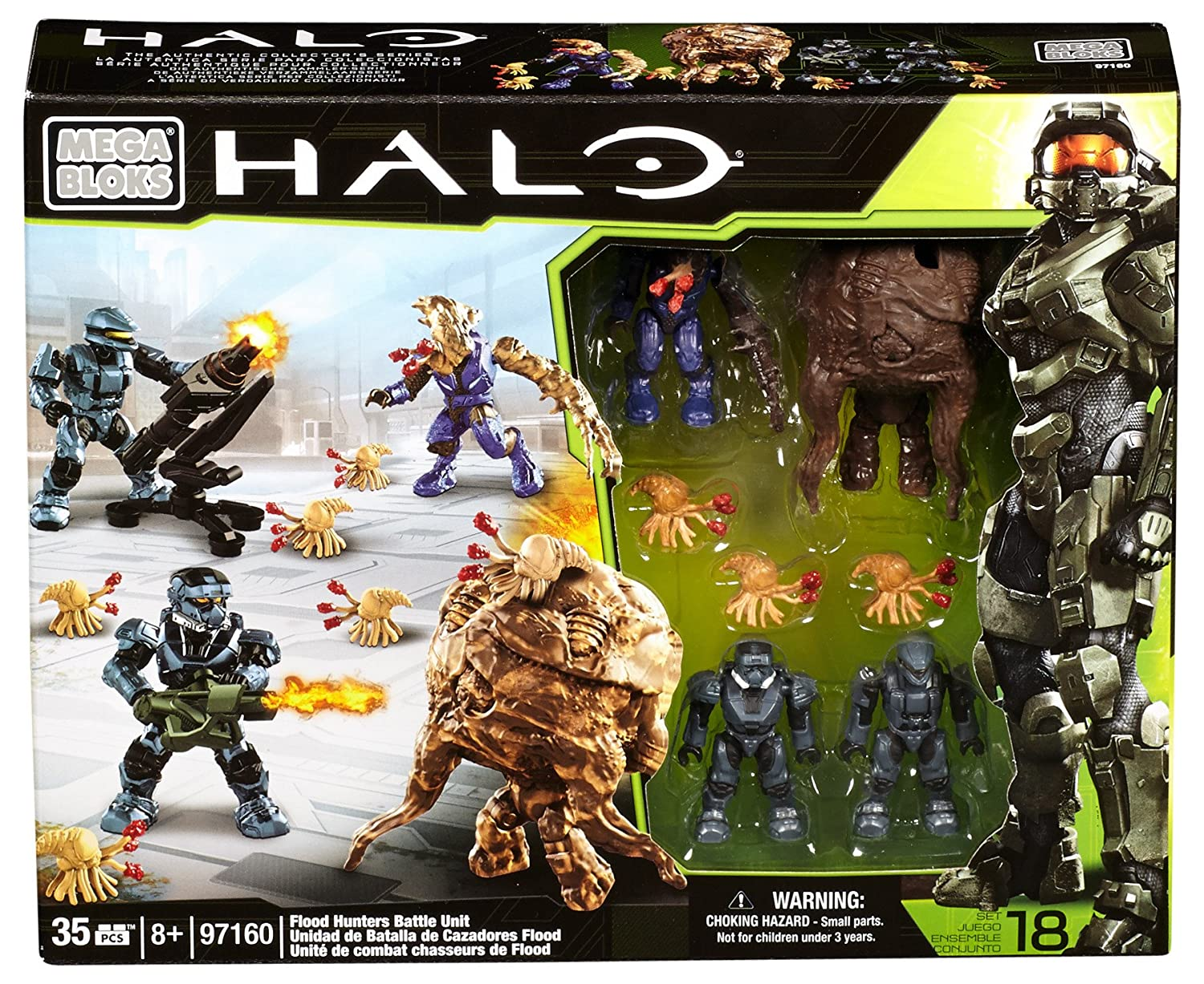 Mattel Mega Bloks - Halo UNSC Flood Hunters Battle Unit - Covert OPs