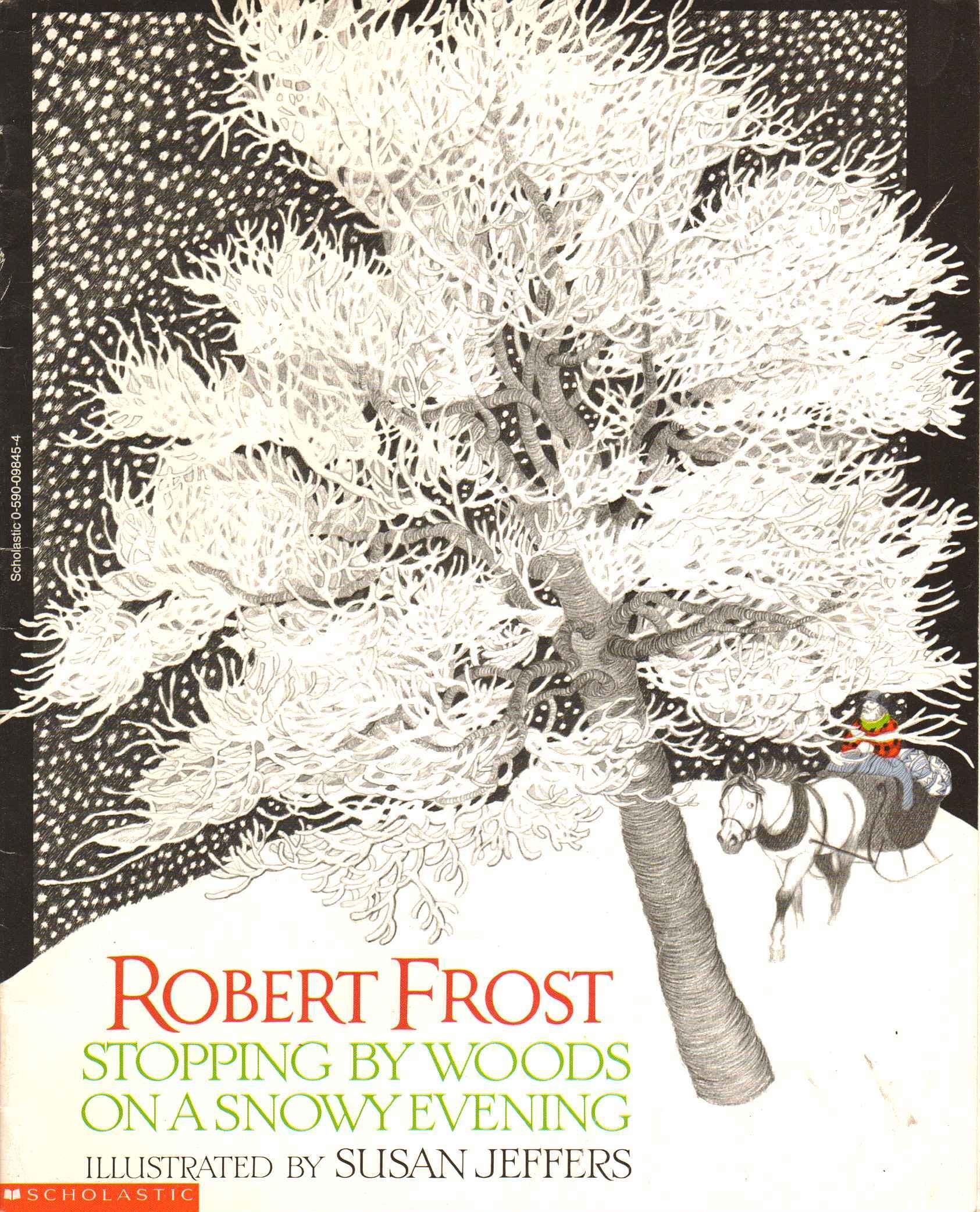 the inner thoughts of man in stopping by the woods on a snowy evening by robert frost Stopping by woods on a snowy evening is one of robert frost's most famous poems, filled with vivid imagery and the theme of.