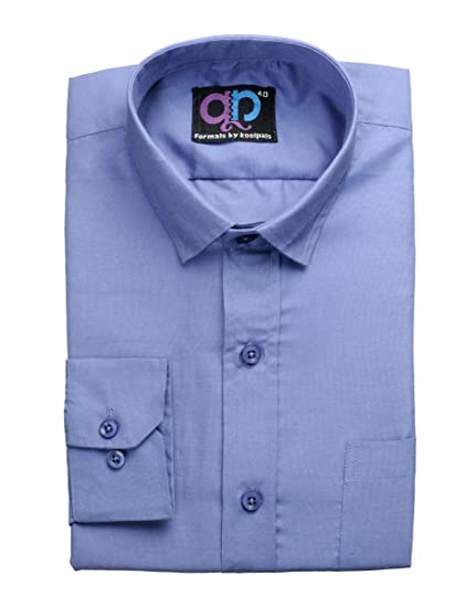 947f5ca928a Koolpals Men s Formal Shirt  Amazon.in  Clothing   Accessories