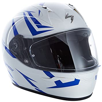 Scorpion Casco Moto exo-390 Hawk, multicolor, talla XXL
